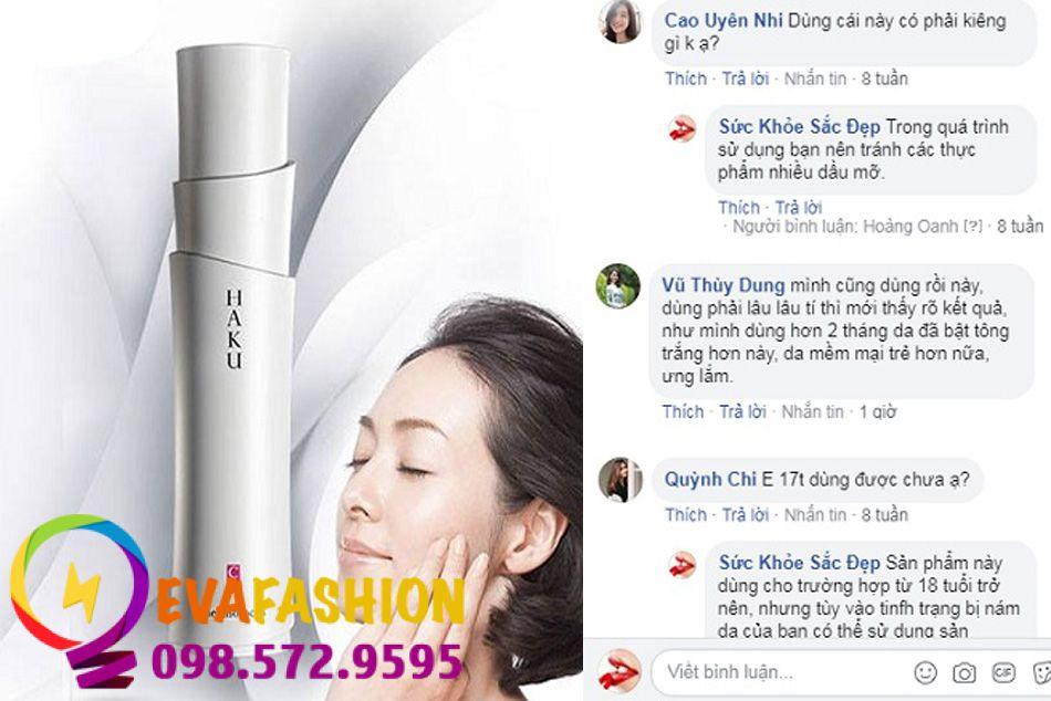 Hình ảnh kem trị nám Shiseido Haku