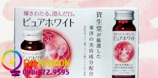 Shiseido Pure White - sản phẩm hỗ trợ trắng da của Nhật