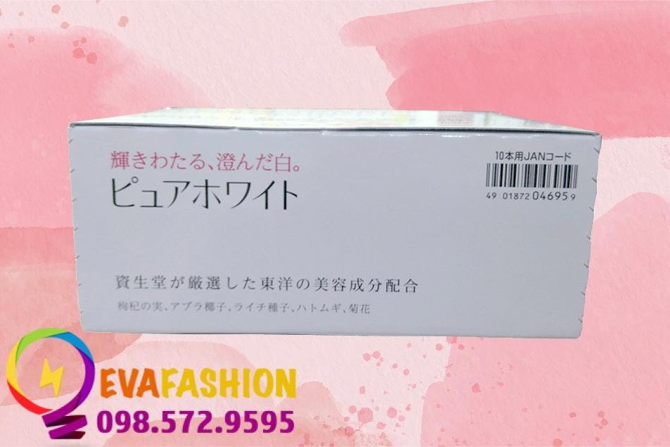 Shiseido Pure White nổi tiếng vì độ lành tính của mình