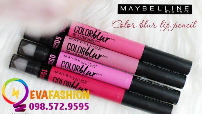 Son Maybelline color blur lip pencil