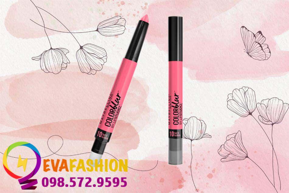 Thiết kế Son Maybelline color blur lip pencil