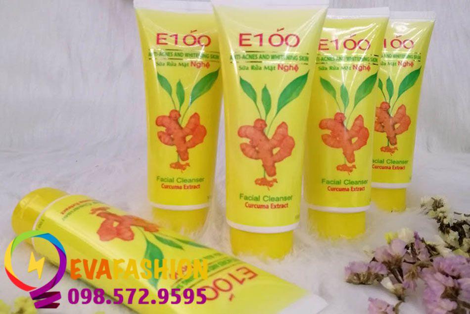 Hình ảnh sữa rửa mặt E100 nghệ