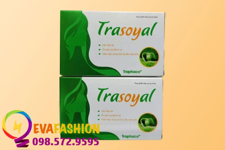 Hình ảnh viên uống Trasoyal