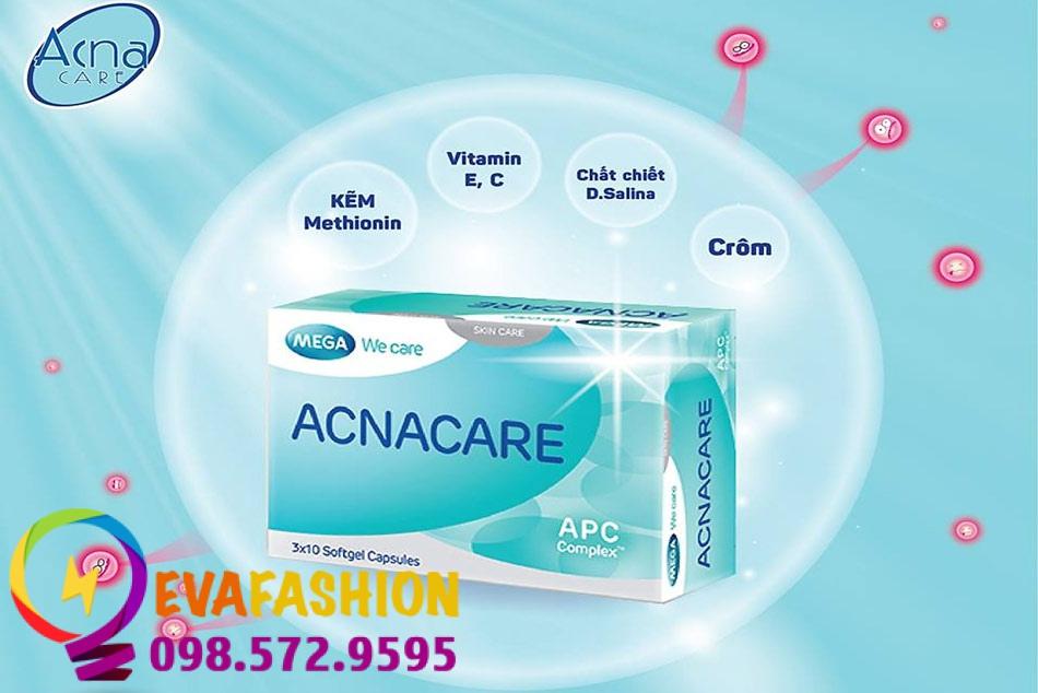 Hình ảnh viên uống Acnacare