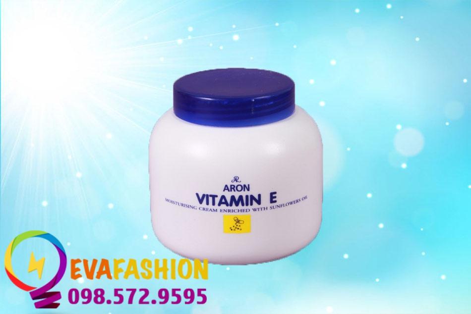 Hình ảnh kem dưỡng ẩm body trắng da Vitamin E ARON