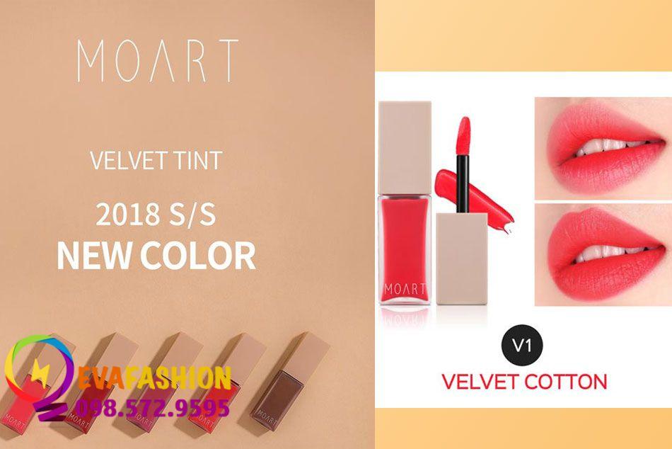 Moart Velvet Tint V1- Velvet Cotton