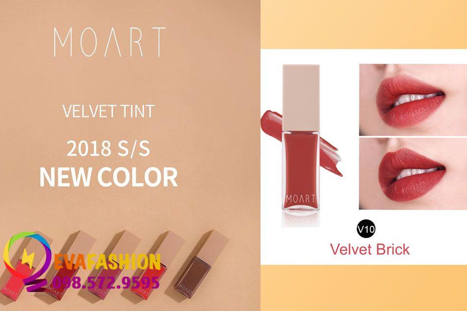 Moart Velvet Tint V10 - Velvet Brick