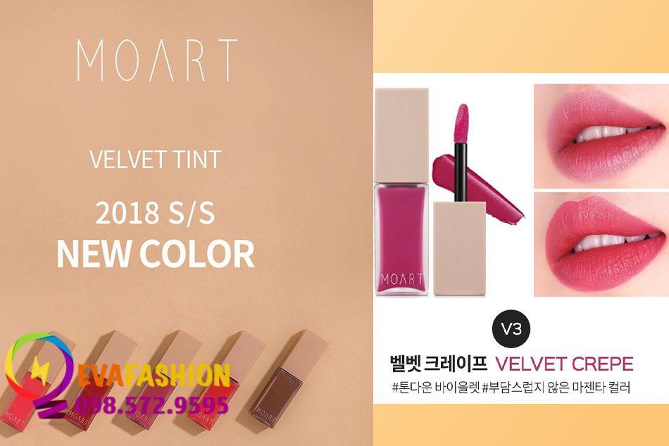 Moart Velvet Tint V3 - Velvet Crepe
