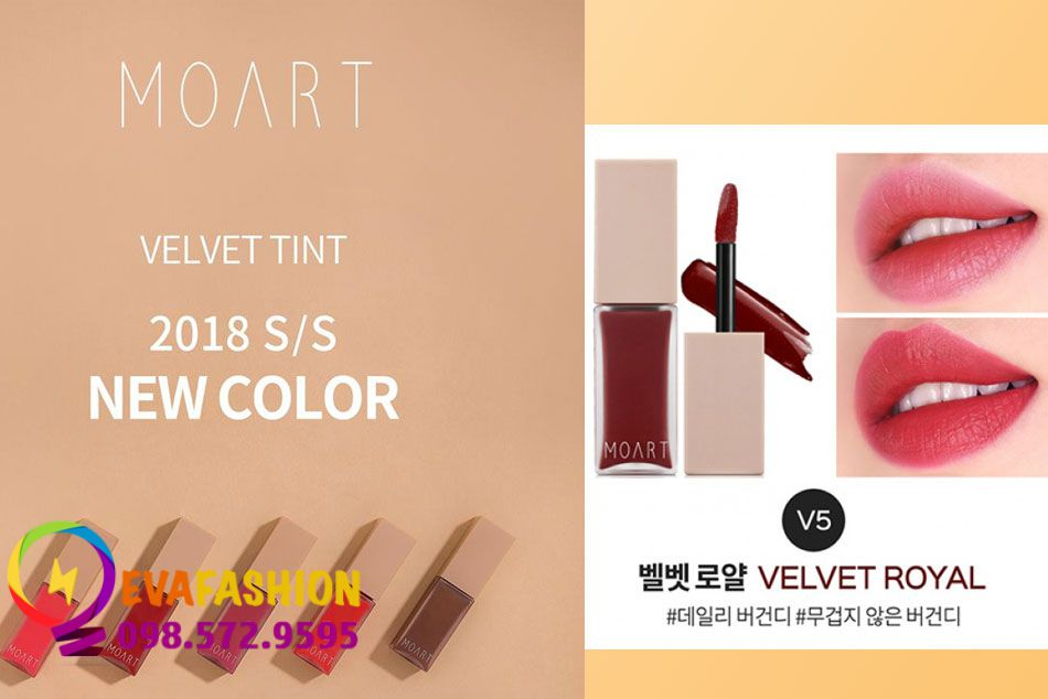 Moart Velvet Tint V5 - Velvet Royal