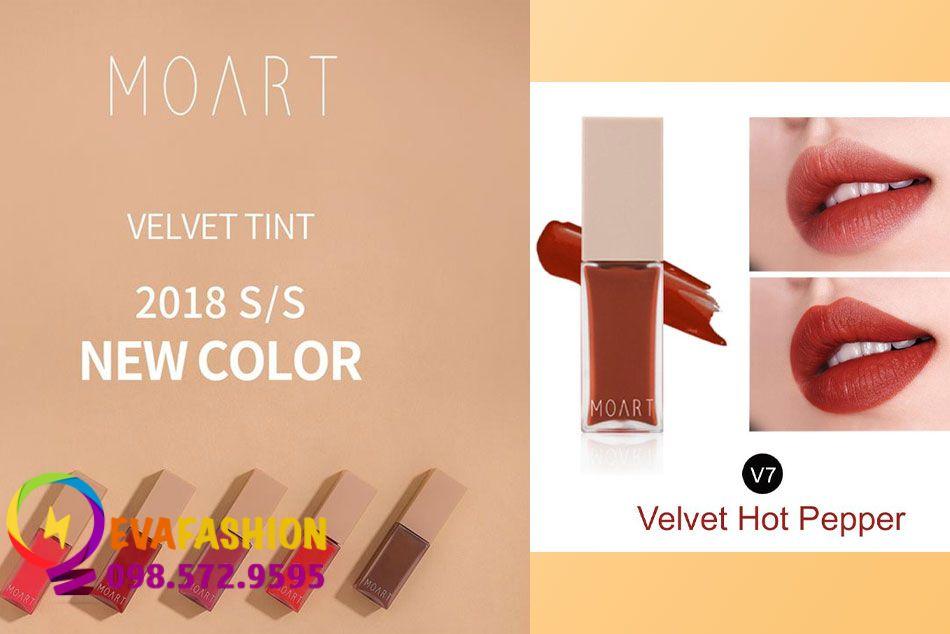 Moart Velvet Tint V7 - Velvet Hot Pepper