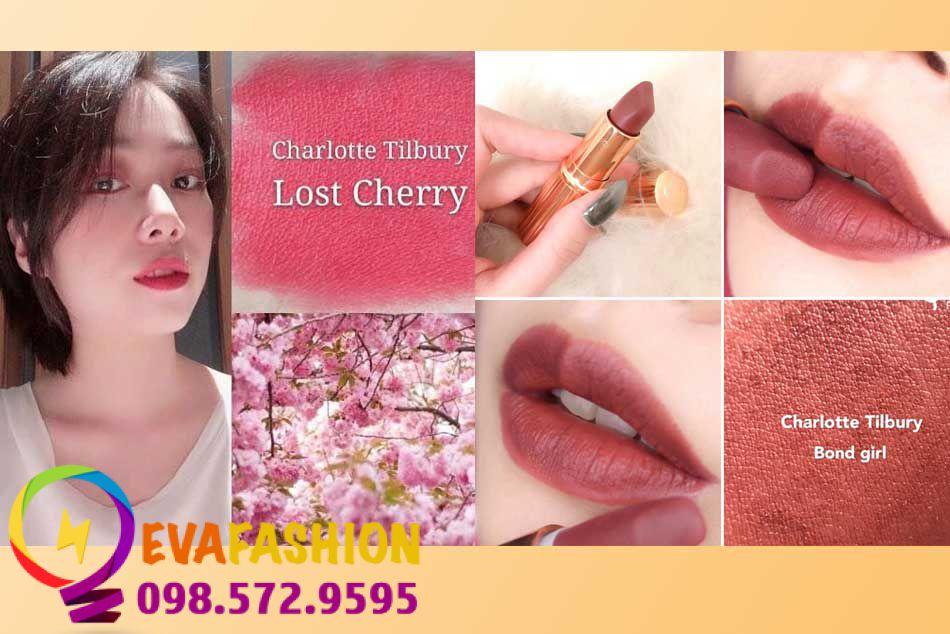 Charlotte Tilbury Matte Revolution Lipstick Lost Cherry - Bond girl