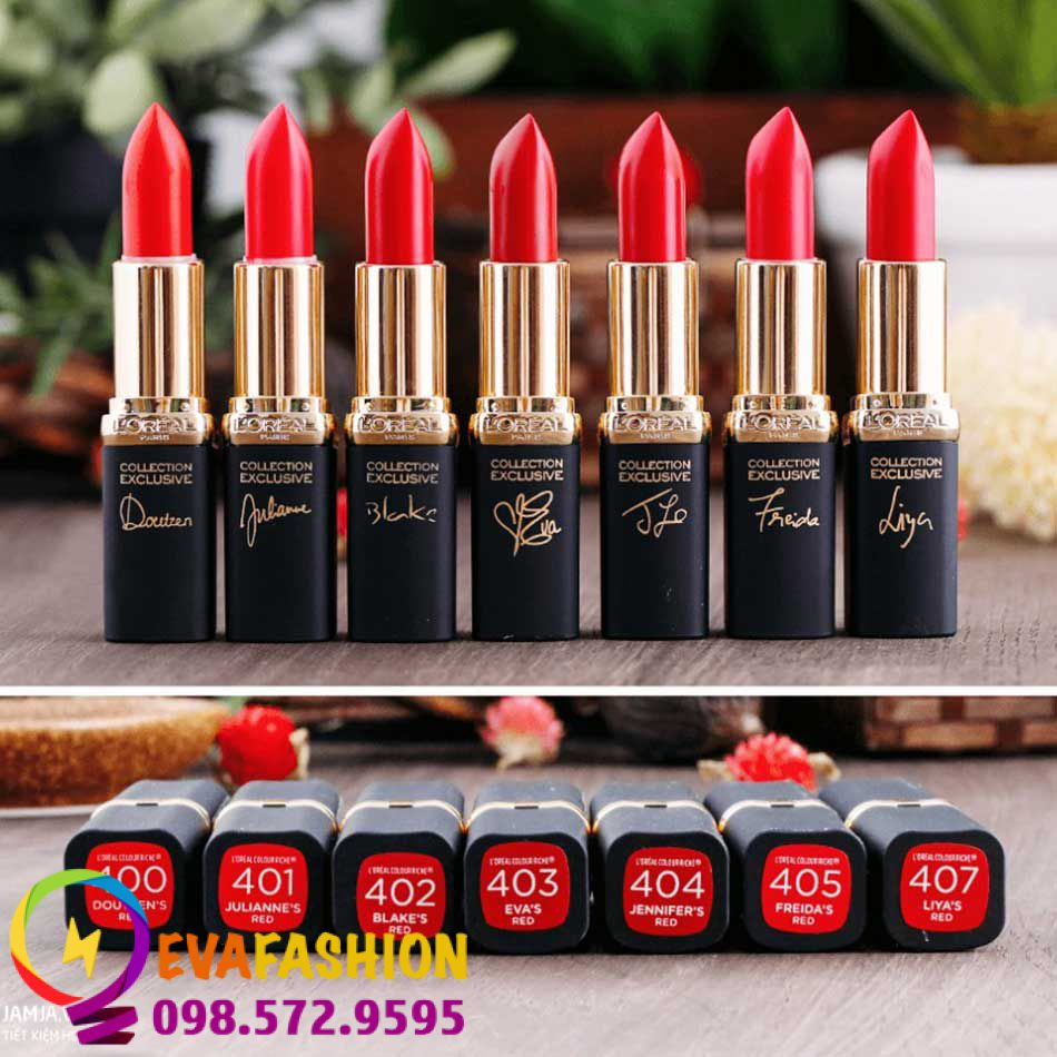 Hình ảnh son L'Oreal Paris Collection Exclusive Lipstick