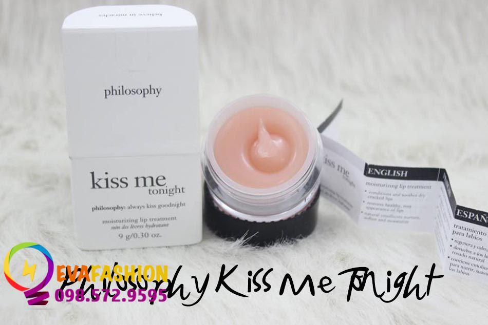 Hình ảnh son dưỡng môi Philosophy Kiss Me Tonight