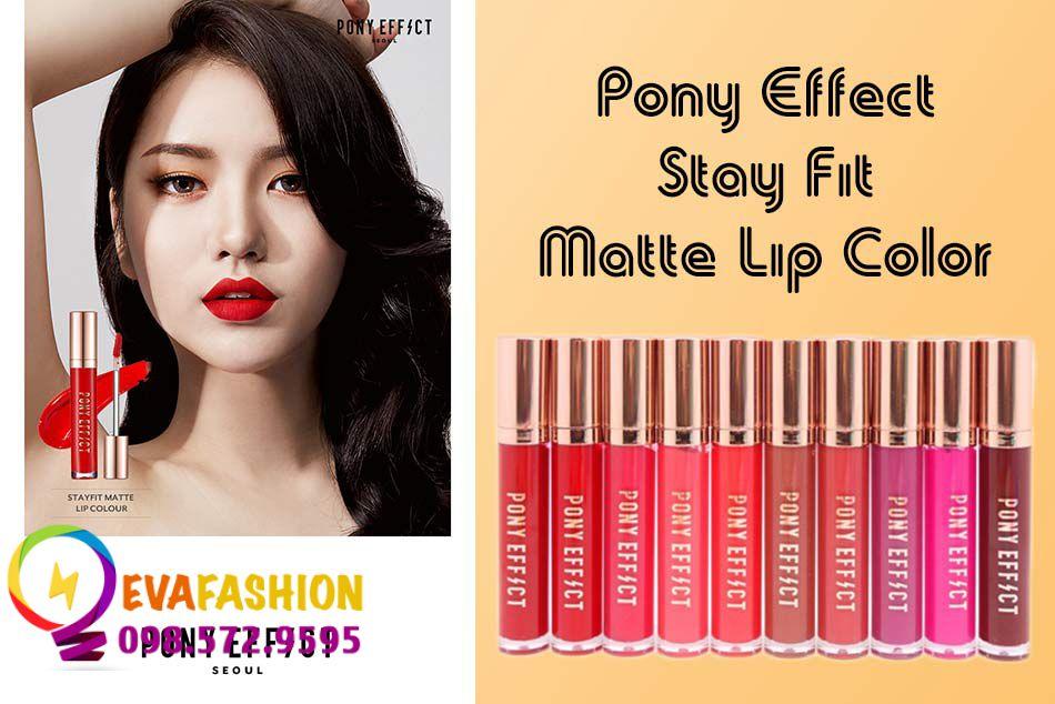 Hình ảnh son kem lì Pony Effect Stay Fit Matte Lip Color