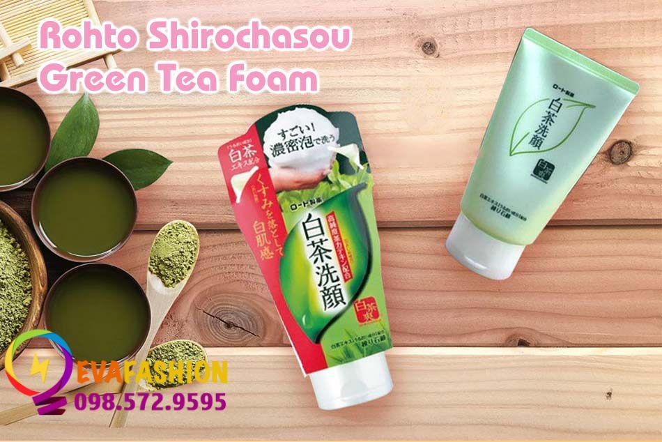 Hình ảnh Rohto Shirochasou Green Tea Foam
