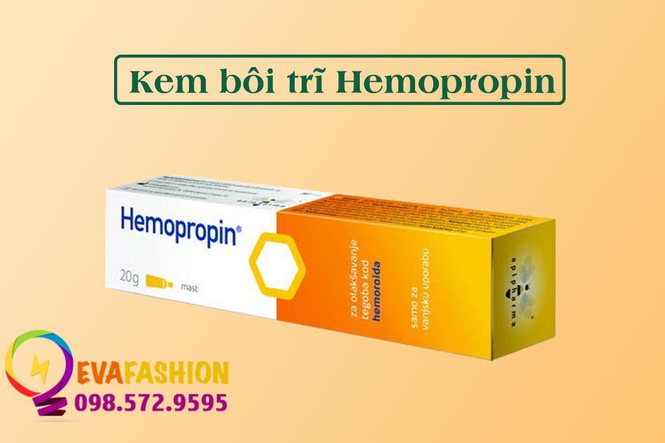 Kem bôi trĩ Hemopropin