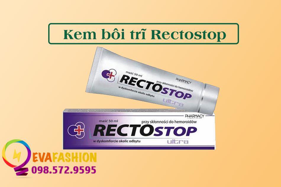 Kem bôi trĩ Rectostop