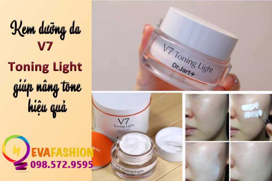 V7 Toning Light giúp nâng tone hiệu quả