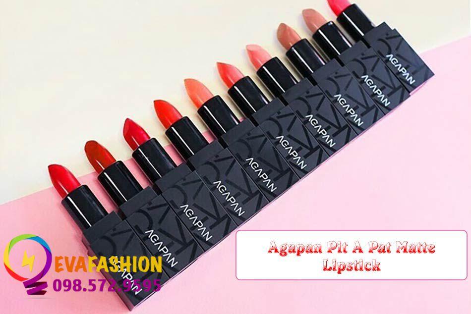 Son Agapan Pit A Pat Matte Lipstick