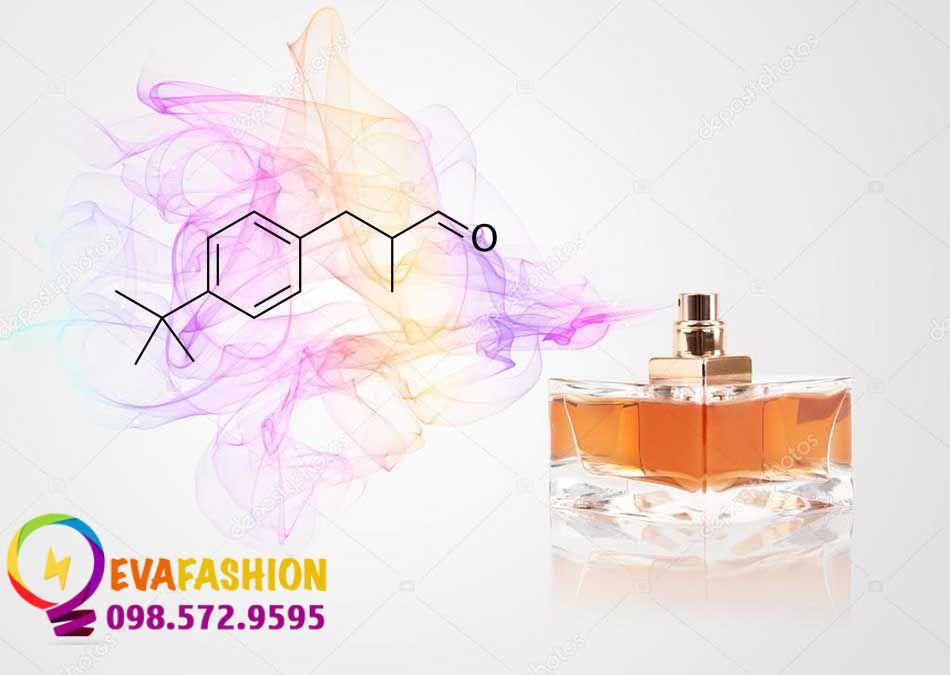 Công thức hóa học butylphenyl methylpropional