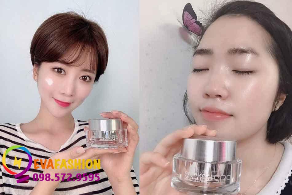 Hình ảnh người dùng kem dưỡng da Oroche Po2 Tone Up Cream
