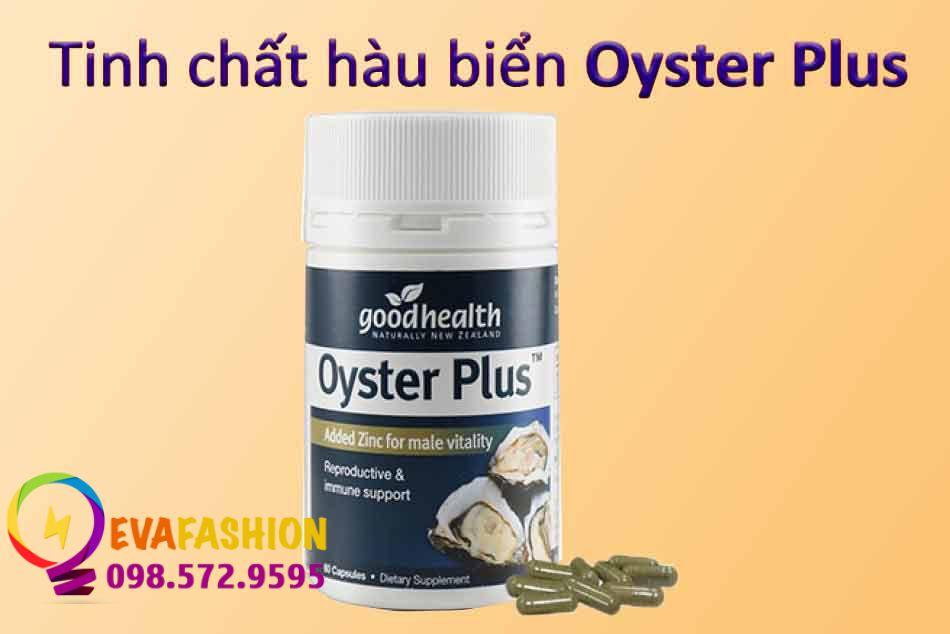 Hình ảnh tinh chất hàu biển Oyster Plus
