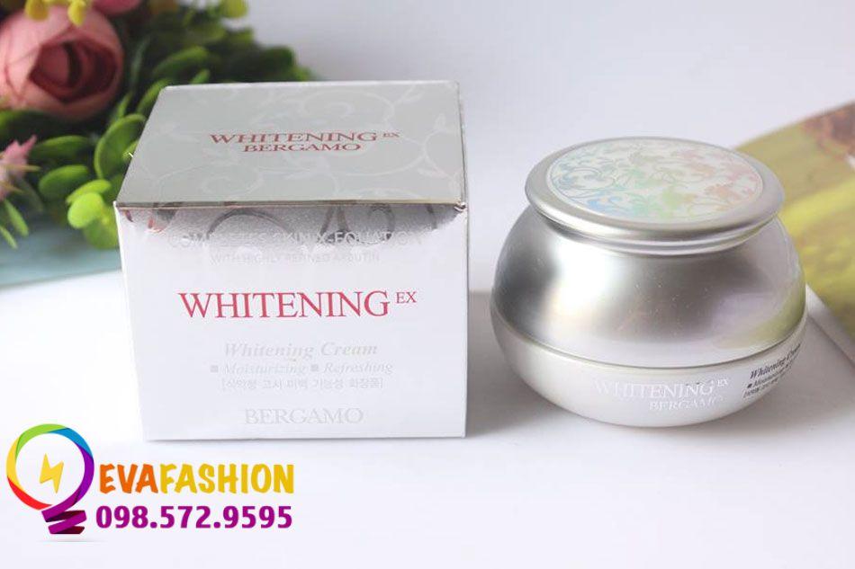 Bergamo Whitening EX Cream chính hãng