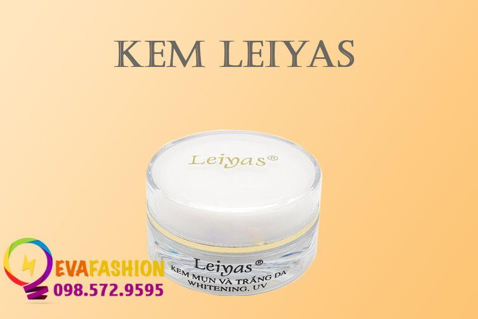 Hình ảnh lọ sản phẩm của Kem Leiyas