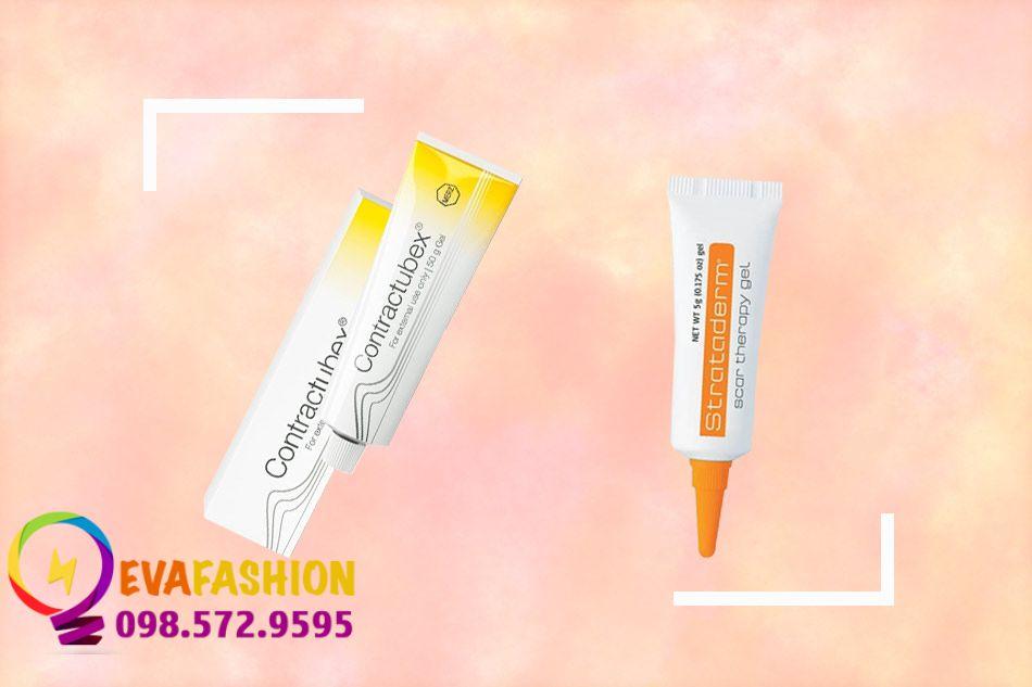 Trị sẹo bằng Gel Contractubex và thuốc Strataderm