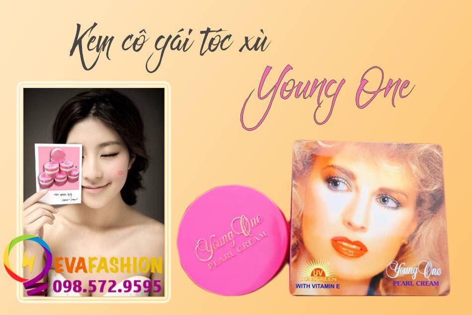 Kem cô gái tóc xù Young One