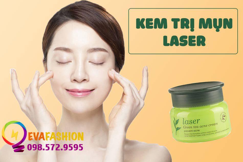 Kem trị mụn Laser