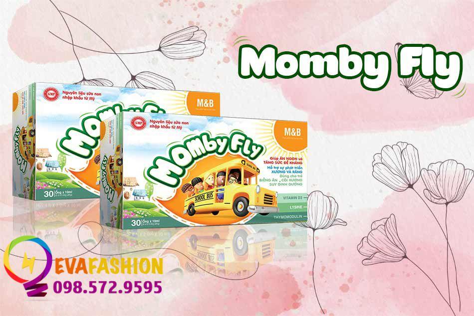 MombyFly - Siro cải thiện chứng biếng ăn ở trẻ được ưa chuộng hiện nay