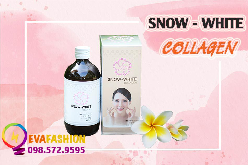 Nước uống sáng da Snow White Collagen