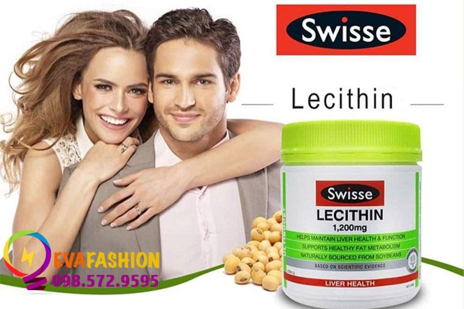 Viên uống mầm đậu nành Swisse Lecithin