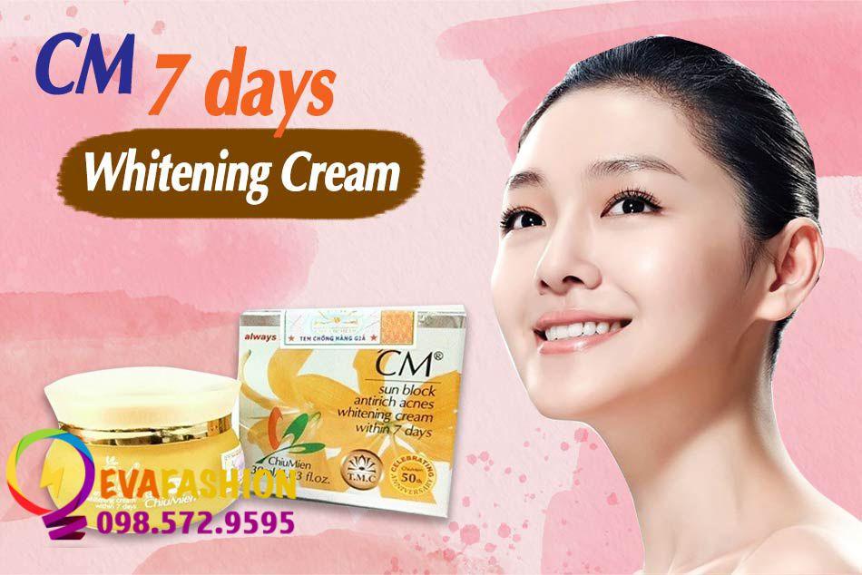Kem CM 7 Days Whitening Cream