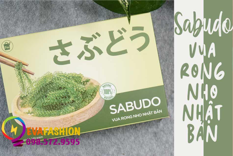 Rong nho Sabudo là sản phẩm được các chuyên gia dinh dưỡng đánh giá cao