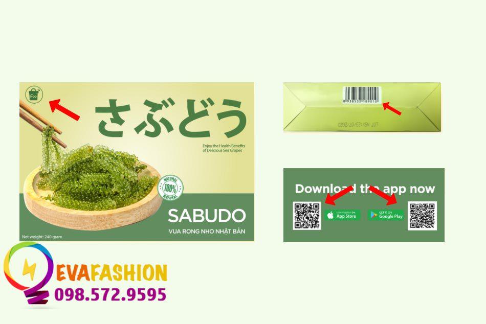 Cách nhận biết sản phẩm Rong nho Sabudo chính hãng