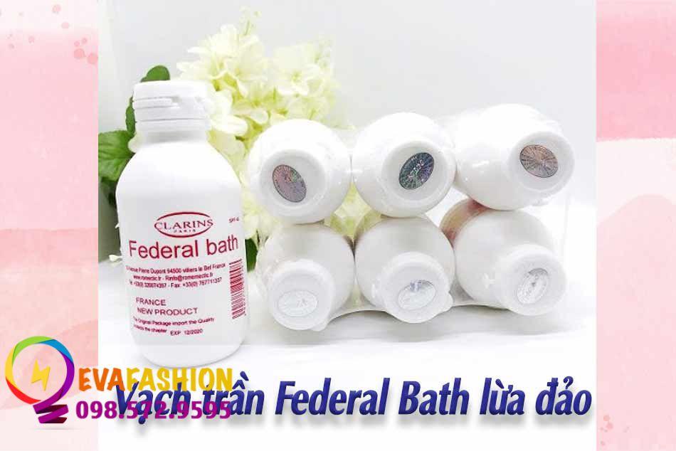 Sữa non Federal Bath lừa đảo