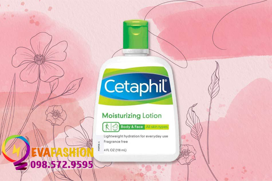 Cetaphil moisturizing lotion Face & Body all skin types 4 FL OZ (118ml)