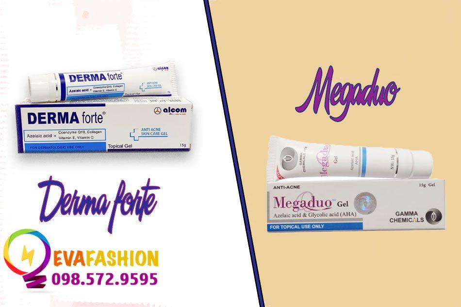 Derma Forte và Megaduo