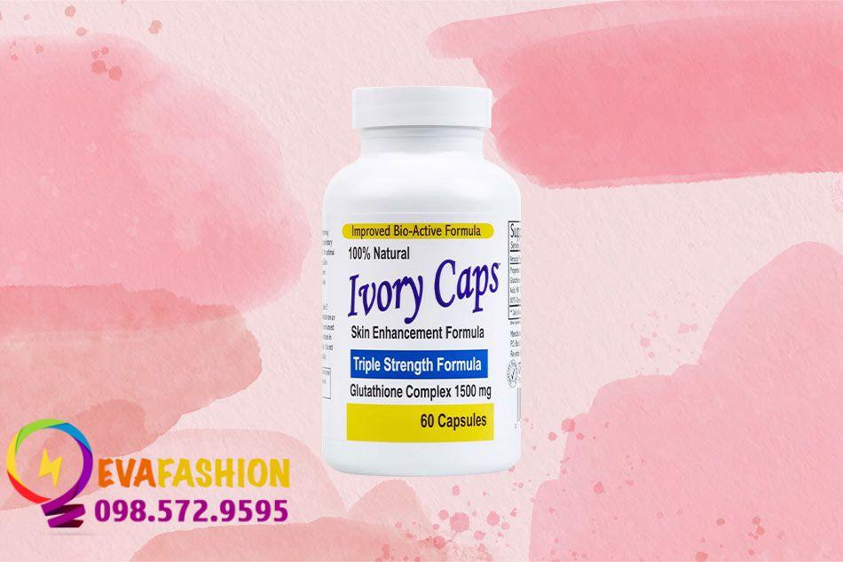 Ivory Caps Glutathione giúp bổ sung Glutathione