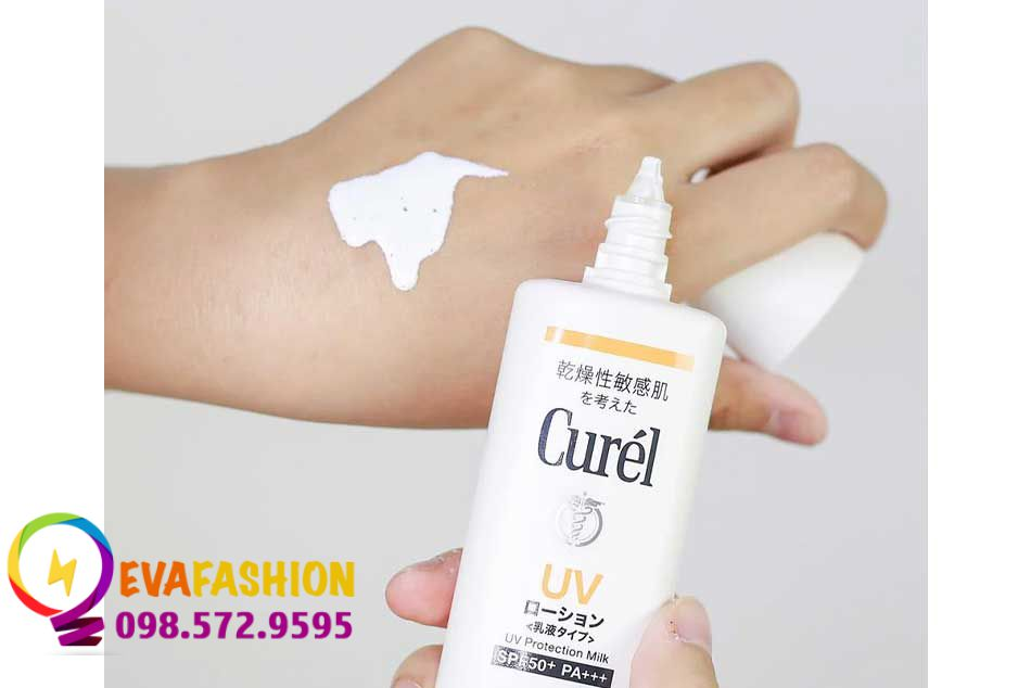 Kem chống nắng Curel UV Protection Milk