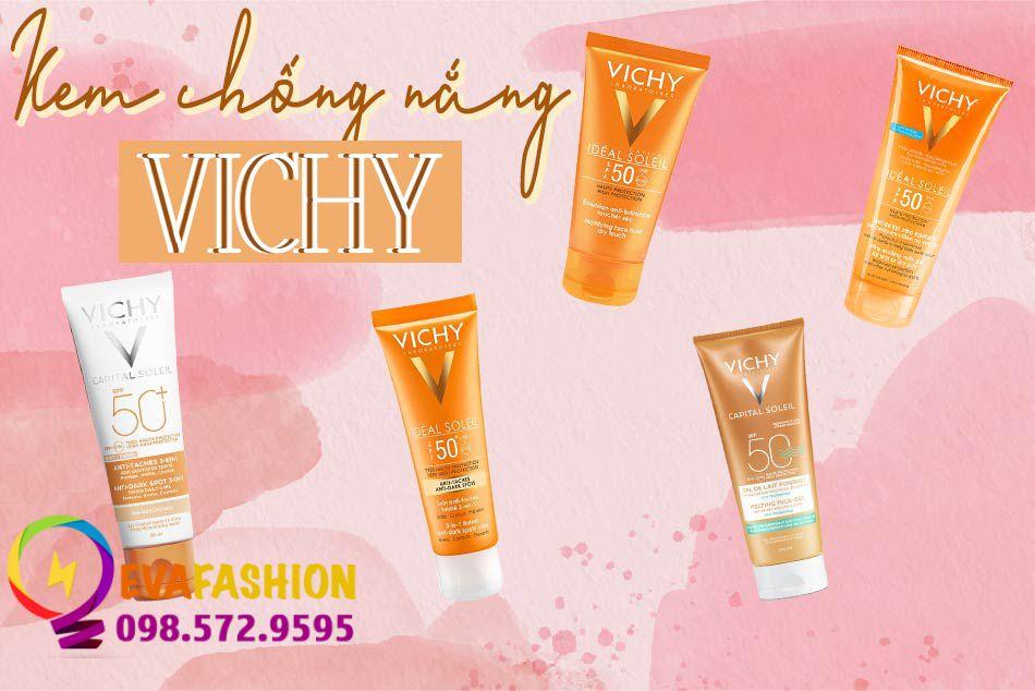 Review Kem chống nắng Vichy
