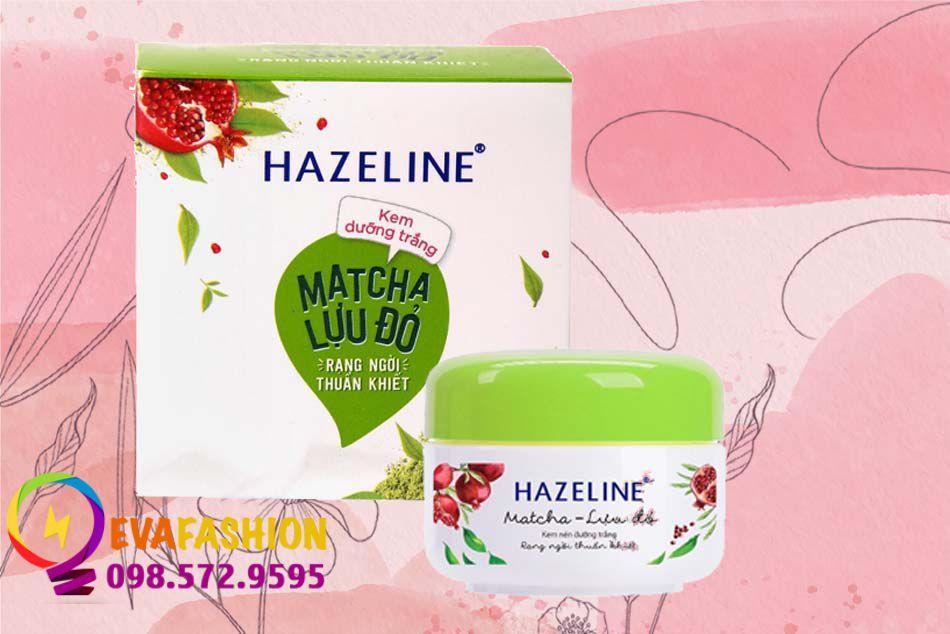 Kem dưỡng da Hazeline Matcha- Lựu đỏ rạng ngời
