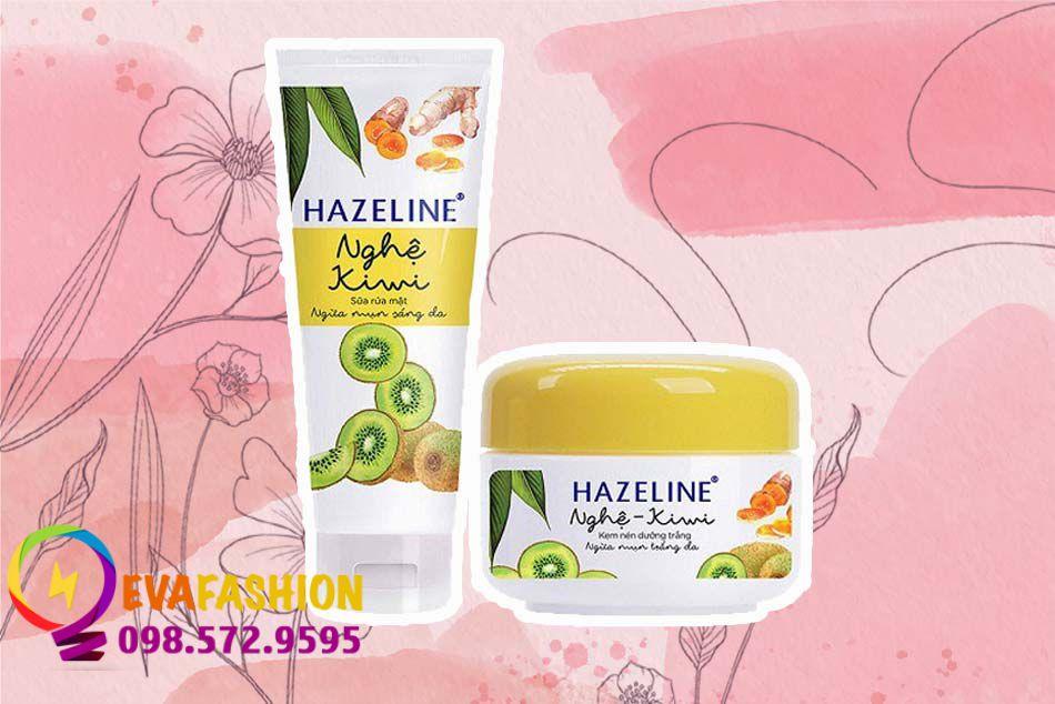 Kem dưỡng da Hazeline Nghệ- Kiwi ngăn ngừa mụn