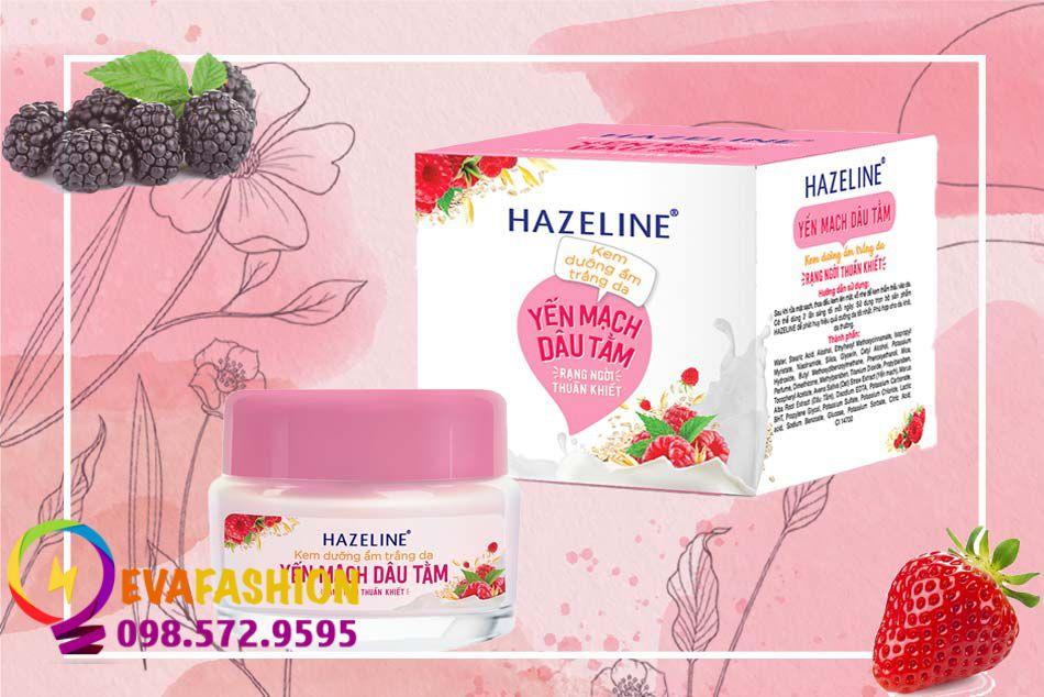 Kem dưỡng da Hazeline Yến mạch- Dâu tằm dưỡng trắng da