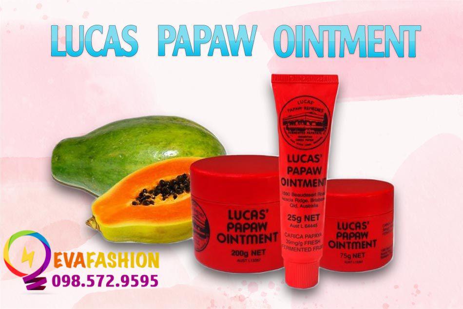Kem dưỡng đa năng Lucas Papaw Ointment