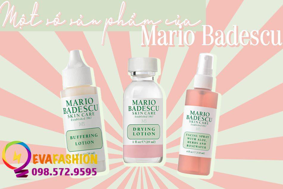 Một số sản phẩm nổi tiếng của thương hiệu Mario Badescu