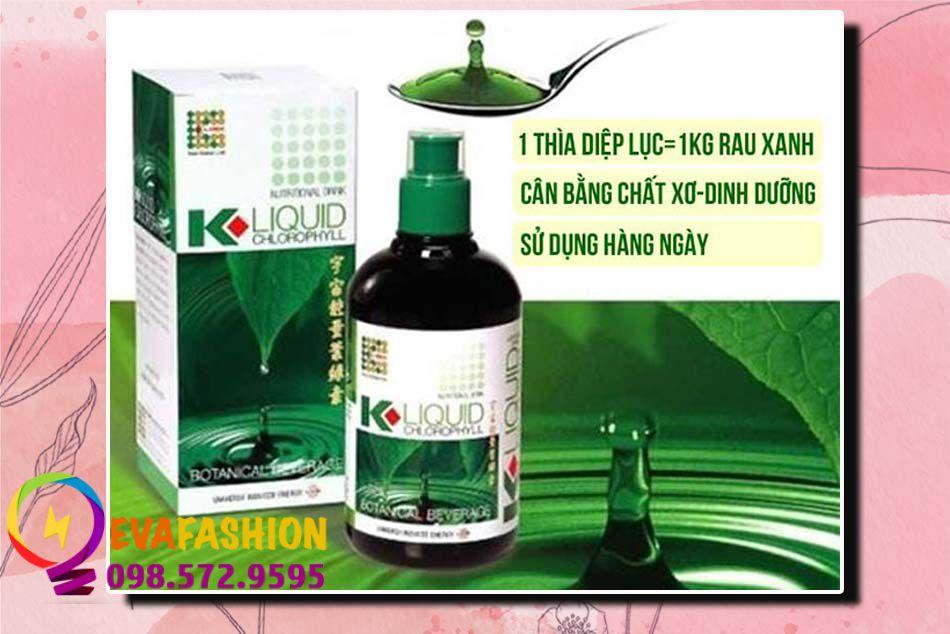 Nước diệp lục K-Liquid Chlorophyll