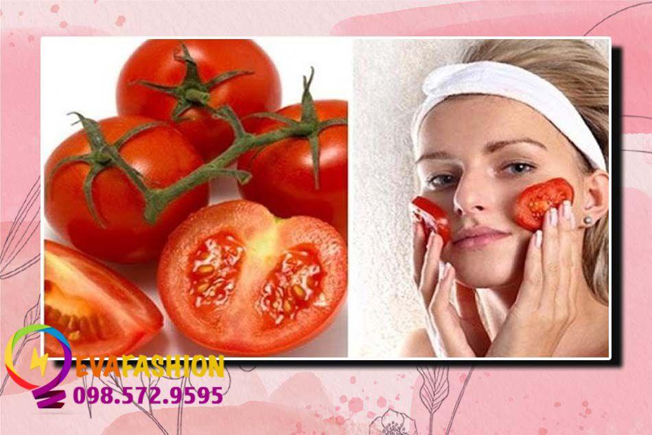 Sử dụng lotion cà chua